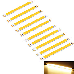 youoklight® 10st 10W 950lm cob 1 geleide warm 3000K rechthoek strip (DC 12 ~ 14v)