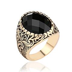 Férfi Női Vallomás gyűrűk Szerelem Divat Szintetikus drágakövek Ötvözet Ékszerek Ékszerek Kompatibilitás Esküvő Parti Napi Hétköznapi