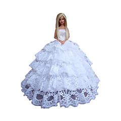 お買い得  バービー人形用アパレル-プリンセス ドレス ために バービー人形 ドレス ために 女の子の 人形玩具
