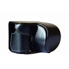hesapli -sony a6000 / a6300 (siyah / beyaz / kahverengi / kahve / pembe) için a6300 kamera çantası
