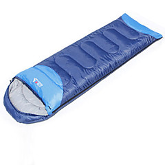 Sleeping Bag Rectangular Bag Single 10°C Hollow Cotton Keep Warm Moistureproof/Moisture Permeability Waterproof Windproof Dust Proof 220X