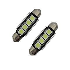 billige LED & Belysning-1.5 W 80-90 lm Feston Dekorationslampe 4 leds SMD 5050 Kold hvid DC 12V