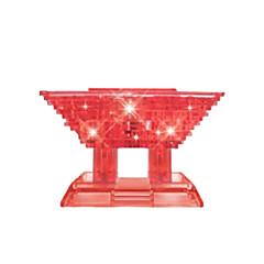 أحجار البناء قطع تركيب3D تركيب تركيب كريستال ألعاب الزراعة الصينية 3D اصنع بنفسك للأولاد الأطفال قطع