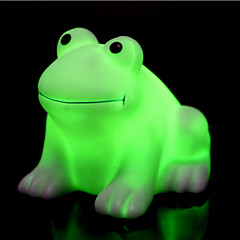 Creative Color-Changing Colorful Happy Frog LED Night Light High Quality