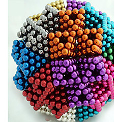 cheap Magnet Toys-Magnet Toys 216 Pieces 5 MM Magnet Toys Building Blocks Magnetic Balls Executive Toys Puzzle Cube For Gift