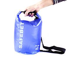 olcso Hátizsákok és táskák-15 L Vízálló Dry Bag Utazás Duffel Vízálló zsák Vízálló Lebegő Púdertartó Többfunkciós mert Úszás Tengerpart Biztonság Szabadtéri