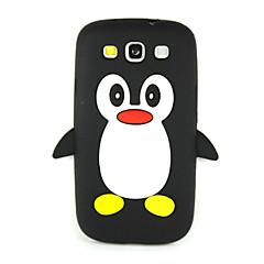3d pinguïn siliconen beschermende telefoon geval dekking voor Galaxy S7 edge / S7 / s6 / S5 / S4 / S4 mini / s3 mini