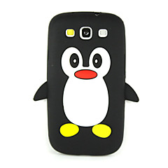 olcso Galaxy S3 tokok-Case Kompatibilitás Samsung Galaxy Samsung Galaxy S7 Edge Ütésálló Fekete tok 3D figura Puha Szilikon mert S7 edge S7 S6 S5 S4 Mini S4 S3