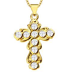 mode kors vedhæng kvinder eller mænd af høj kvalitet 18K forgyldt charme smykker gave halskæder vedhæng p30091