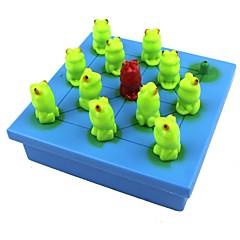 Schachspiel Spielzeuge Frosch Papier Stücke Geschenk