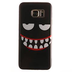 halpa Galaxy S4 Mini kotelot / kuoret-Varten Samsung Galaxy S7 Edge Kuvio Etui Takakuori Etui Piirros Pehmeä TPUS7 edge / S7 / S6 edge / S6 / S5 Mini / S5 / S4 Mini / S4 / S3
