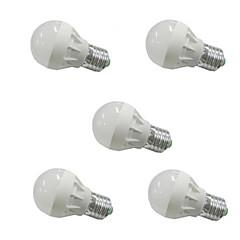 preiswerte LED-Birnen-3W 300-350 lm E26/E27 LED Kugelbirnen G45 6 Leds SMD 5630 Warmes Weiß Kühles Weiß Wechselstrom 110-130V Wechselstrom 220-240V