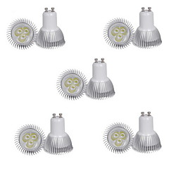 3W GU10 LED Σποτάκια MR11 3 SMD 300-350 lm Θερμό Λευκό Ψυχρό Λευκό 3000-3500K/6000-6500K κ Διακοσμητικό AC 85-265 V