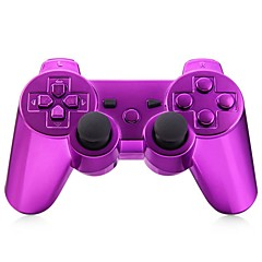 Wireless Bluetooth Gamepad Game Console for PS3 Goldplated (Multicolor)