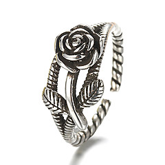Ring Vintage / Punk Style Daily / Casual Jewelry Silver / Sterling Silver Band Rings 1pc,Adjustable Silver
