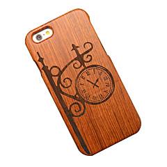 Для Кейс для iPhone 6 Кейс для iPhone 6 Plus Чехлы панели С узором Задняя крышка Кейс для Мультипликация Твердый Дерево для AppleiPhone