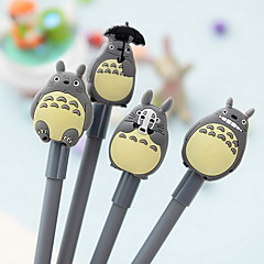 Totoro Design Black Ink Gel Pen(1 PCS Random Pattern)