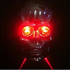 tanie Światła rowerowe-Światła rowerowe Tylna lampka rowerowa Laser - Kolarstwo Łatwe przenoszenie Laser Inny - Lumenów Bateria Kolarstwo