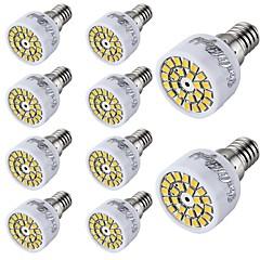 halpa LED-lamput-10pcs 2W 150-200lm E14 LED-kohdevalaisimet T 24 LED-helmet SMD 2835 Koristeltu Lämmin valkoinen Kylmä valkoinen 220-240V