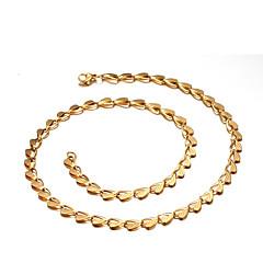 Dame Kort halskæde Kærlighed Mode Guld Smykker For Daglig Afslappet 1 Stk.