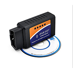 abordables OBD-Bluetooth Bluetooth v2.1 obd2 elm327 detector de vehículo, medidor de consumo de combustible de los vehículos