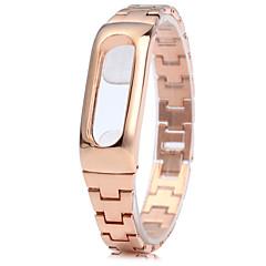 お買い得  腕時計ベルト-ステンレス鋼ストラップ小米科技mibandための抗失われたデザインのリストバンド