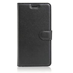 Voor Asus hoesje Kaarthouder / met standaard / Flip hoesje Volledige behuizing hoesje Effen kleur Hard TPU AsusAsus ZenFone 3