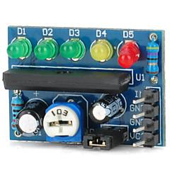 abordables Módulos-módulo indicador de nivel de audio indicador de batería Indicador de nivel de potencia ka2284