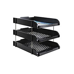 A Combination Of Three File Tray Office Documents Tray Dedicated File