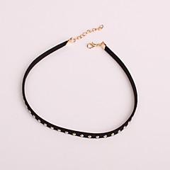 preiswerte Halsketten-Damen Halsketten / Tattoo-Hals - Tattoo Stil, Retro, Simple Style Niedlich Silber, Golden Modische Halsketten Schmuck Für Party, Alltag, Normal