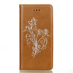 Для Кейс для Sony / Xperia Z5 Кошелек / Бумажник для карт / Защита от удара Кейс для Чехол Кейс для Один цвет Мягкий Искусственная кожа