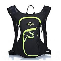 12l L Pyöräily Reppu Backpack varten Vapaa-ajan urheilu Matkailu Juoksu Urheilulaukut Heijastava raita Vedenkestävä Käytettävä