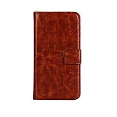 baratos -estilo carteira de luxo caso pu couro aleta com snap magnético e cartão para lumia 650 (cores sortidas) microsoft