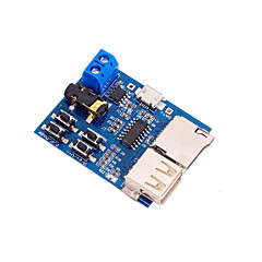 MP3 Lossless Decoding Board TF Card U Disk Module with Power Amplifier