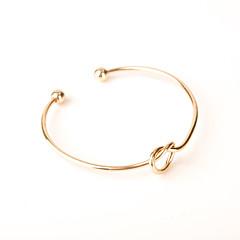 preiswerte Armbänder-Damen Armreife - Modisch, Ohne Verschluss Armbänder Silber / Golden Für Party / Alltag / Normal