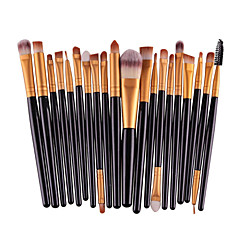 20 stuks pro oogschaduw make-up borstel set poeder foundation eyeliner lip cosmetische borstel set