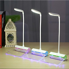 abordables Lámpara de Mesa-Moderno / Contemporáneo Recargable Lámpara de Escritorio Para Plástico Verde / Azul / Rosa
