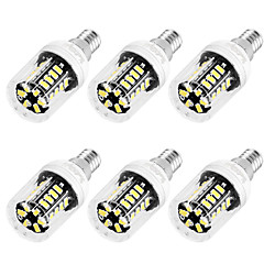 voordelige LED-lampen-E12 E26/E27 LED-maïslampen T 30 leds SMD 5733 Decoratief Warm wit Koel wit 250lm 3000/6000K AC 110-130V
