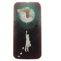 Недорогие Чехлы и кейсы для Motorola-Кейс для Назначение Moto G Motorola Кейс для Motorola С узором Кейс на заднюю панель Воздушные шары Мягкий ТПУ для