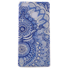For Huawei etui P9 P9 Lite P8 P8 Lite IMD Etui Bagcover Etui Camouflage Blødt TPU for HuaweiHuawei P9 Huawei P9 Lite Huawei P8 Huawei P8
