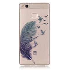 Takakuori IMD Sulat TPU Pehmeä Tapauksessa kattaa Huawei Huawei P9 / Huawei P9 Lite / Huawei P8 Lite