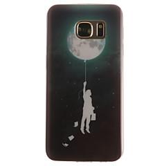 Χαμηλού Κόστους Galaxy S4 Mini Θήκες / Καλύμματα-Για Samsung Galaxy S7 Edge Με σχέδια tok Πίσω Κάλυμμα tok Μπαλόνι Μαλακή TPU SamsungS7 edge / S7 / S6 edge / S6 / S5 Mini / S5 / S4 Mini
