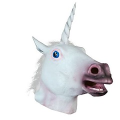 New 2016 Unicorn Horse Head Mask Halloween Costume Party Gift Prop Novelty Masks Latex Rubber Creepy