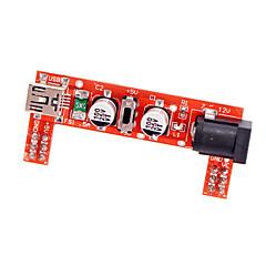 お買い得  アクセサリー-mb102ブレッドボード用電源3.3V / 5V電源モジュール