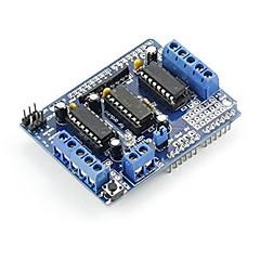 お買い得  ロボット&アクセサリー-UNO R3 AVRアトメルArduinoのduemilanoveメガためl293dモータ駆動シールド