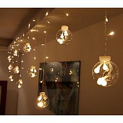 お買い得  LED ストリングライト-3M ストリングライト 12 LED 3528 SMD 温白色 / RGB / ホワイト 接続可 220 V / # / IP44