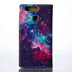 olcso Huawei tokok-Mert Huawei tok / P8 / P8 Lite Other Case Teljes védelem Case Csempe Kemény Műbőr Huawei Huawei P8 / Huawei P8 Lite