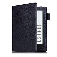お買い得  タブレット用ケース-ケース 用途 Amazon フルボディーケース タブレットケース 純色 ハード PUレザー のために