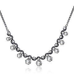 Xu Womem's Exaggerated Clavicle Round Personality Luxury Fashion Pendant Necklace