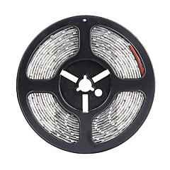halpa Joustavat LED-valonauhat-SENCART 5m Joustavat LED-valonauhat 300 LEDit 5630 SMD Lämmin valkoinen / Valkoinen / Punainen Leikattava / Vedenkestävä / Yhdistettävä 12 V / IP68 / Ajoneuvoihin sopiva / Itsekiinnittyvä